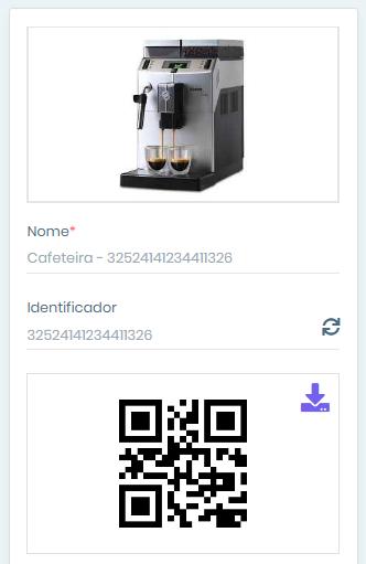 Qr Code equipamentos